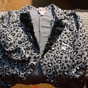 Cheetah print  cover up